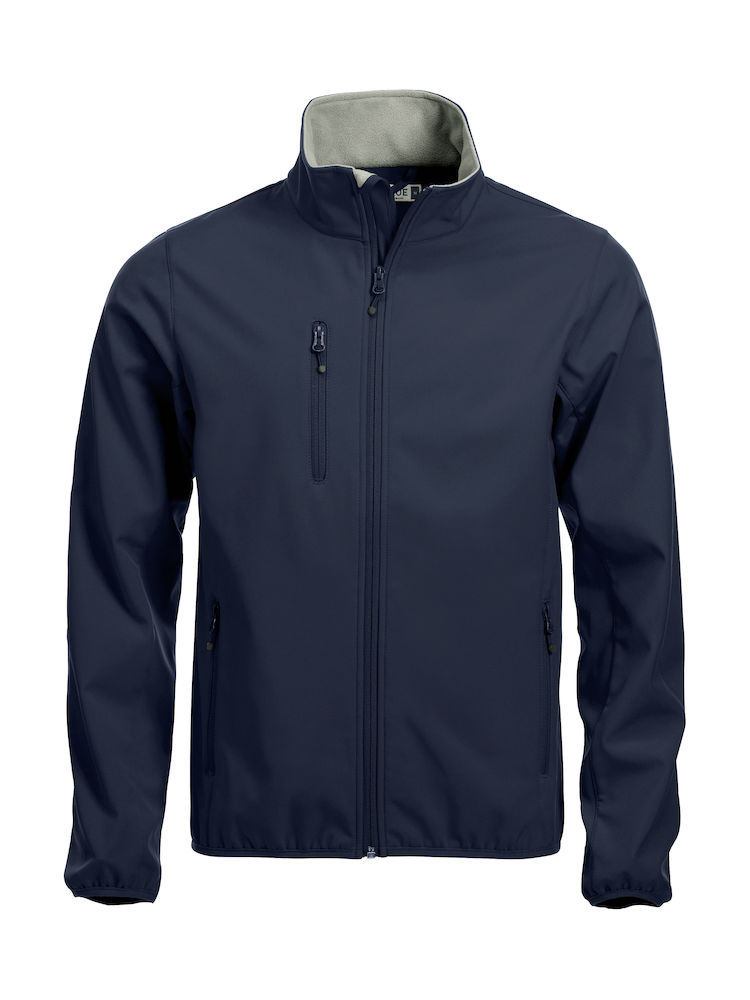 Clique - Basic softshell jacket - men - Navy