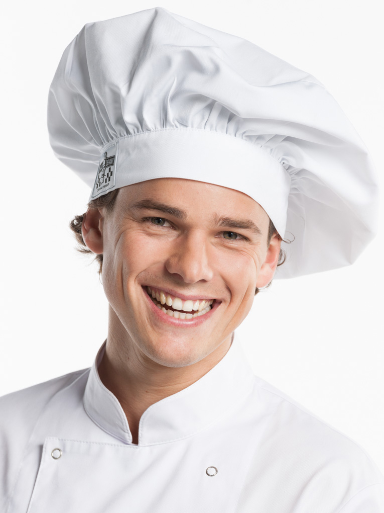 Chef hat - White