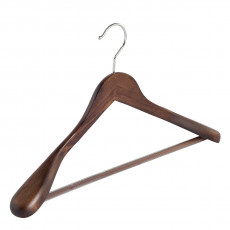 Walnut - clothes hanger for cloak or costume