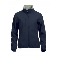 Clique - Basic softshell jacket - women - Navy