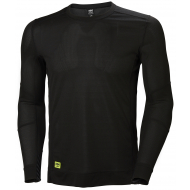 Helly Hansen Work W - Lifa LS Crew Neck -  Black