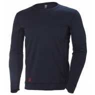Helly Hansen Work W - Lifa Max Crew Neck  - Navy