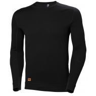 Helly Hansen Work W - Lifa Max Crew Neck  - Black
