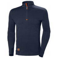 Helly Hansen Work W - Lifa Max Half Zip - Navy