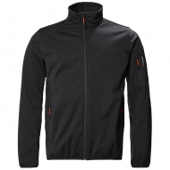 Musto - Crew softshell jacket - men - black