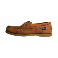 Deck shoes - Chatham - walnut