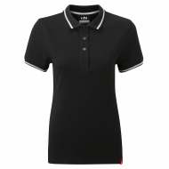 woman's Crew Polo - Gill - charcoal