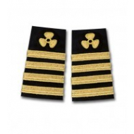 Epaulette for chief engineer shirt