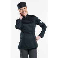 Chef Jacket - lady comfort black