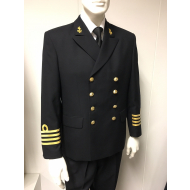 Double breasted officers blazer
