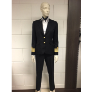 Officers trouser woman - black
