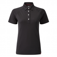woman's UV Tec Polo - Gill - charcoal