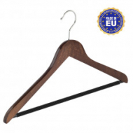Walnut - clothes hanger for blouses, shirts