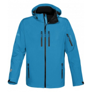 Men Expedition Sofshell - Stormtech - cyan blue